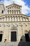 Cattedrale di Santa Maria, Cagliari, Sardinia, Italy. Cathedral of Santa Maria Cattedrale di Santa Maria in the Quartiere Castello, Cagliari, Sardinia Royalty Free Stock Photos