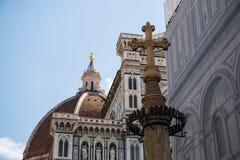 Cattedrale di Santa Maria del Fiore Arkivfoton