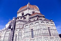 The Cattedrale di Santa Maria del Fiore Cathedral of Saint Mary. Of the Flower in Florence Royalty Free Stock Photo