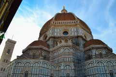 Cattedrale di Santa Maria del Fiore Florence Cathedral, Cathedr Royaltyfria Bilder