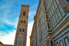 Cattedrale di Santa Maria del Fiore Florence Cathedral, Cathedr arkivbild