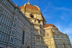 Cattedrale di Santa Maria del Fiore Florence Cathedral, Cathedr. Al of Saint Mary of the Flower, Il Duomo di Firenze in Florence, Italy Royalty Free Stock Photo