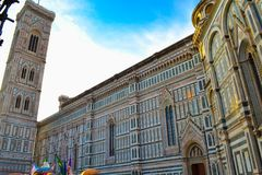 Cattedrale di Santa Maria del Fiore Florence Cathedral, Cathedr. Al of Saint Mary of the Flower, Il Duomo di Firenze in Florence, Italy Stock Images