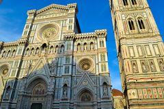 Cattedrale di Santa Maria del Fiore Florence Cathedral, Cathedr. Al of Saint Mary of the Flower, Il Duomo di Firenze in Florence, Italy Royalty Free Stock Images