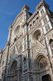Cattedrale di Santa Maria del Fiore in Florence, Italy. Facade of the Cattedrale di Santa Maria del Fiore (Cathedral of Saint Mary of the Flowers) in Florence Royalty Free Stock Image