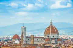Cattedrale-Di Santa Maria Del Fiore in Florenz Stockfotografie