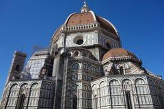 Cattedrale di Santa Maria del fiore i florence, Italien royaltyfria bilder
