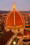 Cattedrale di Santa Maria del Fiore at sunset Stock Photography