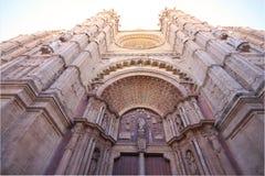 Cattedrale di Santa Maria di Palma De Mallorca - La Seu immagini stock libere da diritti