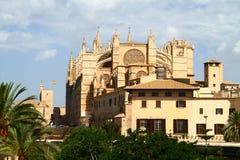 Cattedrale di Santa Maria di Palma, Mallorca immagini stock libere da diritti