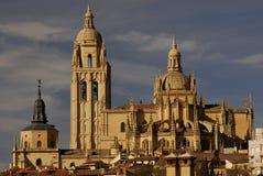 Cattedrale di Santa Maria a Segovia Immagini Stock