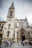 Cattedrale di Santiago, Bilbao Fotografie Stock
