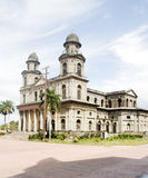 Cattedrale di Santiago Managua Nicaragua fotografia stock libera da diritti