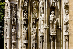Cattedrale di Sauveur del san Immagine Stock Libera da Diritti