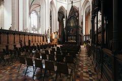 Cattedrale di Schwerin Fotografia Stock
