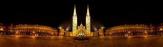 Cattedrale di Seghedino, Ungheria immagini stock