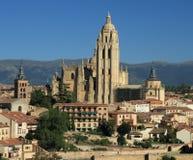Cattedrale di Segovia Fotografie Stock