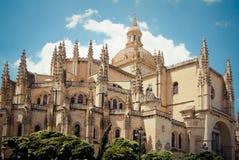 Cattedrale di Segovia Fotografia Stock