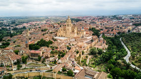 Cattedrale di Segovia, Spagna Immagini Stock Libere da Diritti