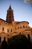 Cattedrale di Sernin del san Immagine Stock Libera da Diritti