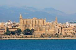 Cattedrale di Seu della La in Palma de Mallorca Fotografia Stock Libera da Diritti