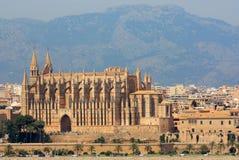 Cattedrale di Seu della La in Palma de Mallorca Fotografia Stock