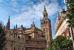 Cattedrale di Sevilla Fotografia Stock Libera da Diritti