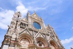 Cattedrale di Siena Immagine Stock Libera da Diritti
