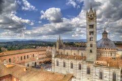 Cattedrale di Siena, Italia Fotografia Stock