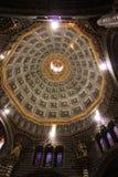 Cattedrale di Siena in Italia, costruita nel XIII secolo fotografia stock