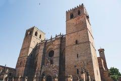 Cattedrale di Siguenza, Guadalajara Fotografia Stock