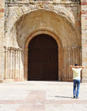 Cattedrale di Siguenza, Spagna Immagini Stock Libere da Diritti