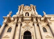 Cattedrale di Siracusa Immagini Stock