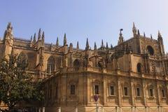 Cattedrale di Siviglia Fotografia Stock
