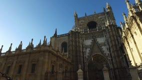 Cattedrale di Siviglia video d archivio