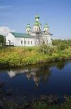 Cattedrale di Smolensk della madre di Dio La Carelia Immagine Stock