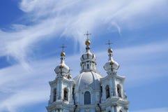 Cattedrale di Smolny immagine stock