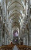 Cattedrale di Soissons, Francia Fotografia Stock Libera da Diritti