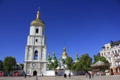 Cattedrale di Sophia del san a Kiev Fotografia Stock Libera da Diritti