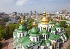 Cattedrale di Sophia del san a Kiev fotografie stock