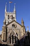 Cattedrale di Southwark a Londra Fotografia Stock Libera da Diritti