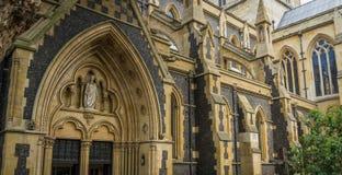 Cattedrale di Southwark a Londra, Inghilterra Fotografia Stock Libera da Diritti