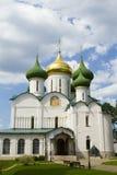 Cattedrale di Spaso-Preobraženskij in Suzdal' Immagine Stock