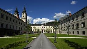 Cattedrale di Spital Pyhrn, Oberosterreich, Austria fotografie stock