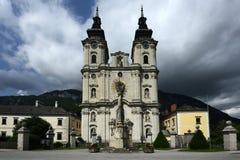 Cattedrale di Spital Pyhrn, Oberosterreich, Austria fotografia stock libera da diritti