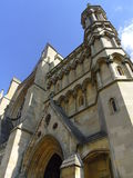 Cattedrale di St Albans in Hertfordshire, Inghilterra Immagine Stock