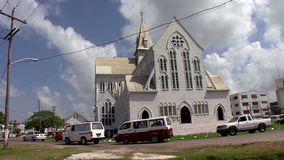 Cattedrale di St George a Georgetown in Guyana archivi video