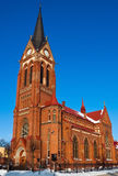 Cattedrale di St.George in Jelgava Fotografie Stock Libere da Diritti