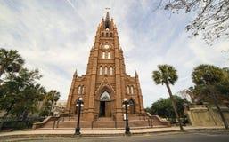 Cattedrale di St John il battista, Charleston Immagine Stock