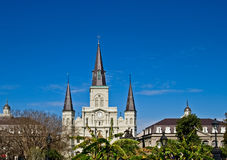 Cattedrale di St. Louis, New Orleans Fotografie Stock